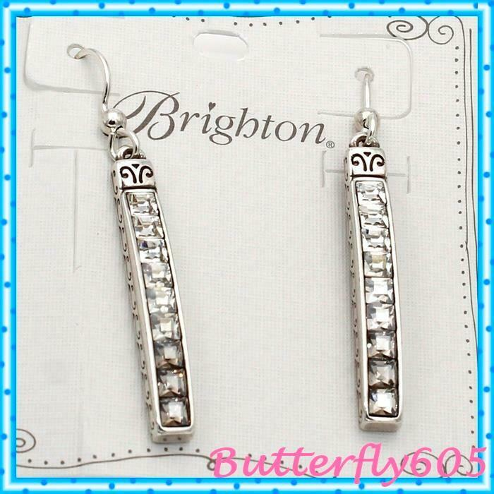 Brighton Spectrum French Wire Earrings color  Ice NWT  48