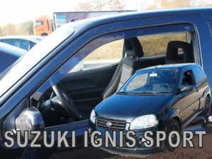 SUZUKI-IGNIS-SPORT-2000-2006-3-doors-Wind-deflectors-2-pc-HEKO-28613