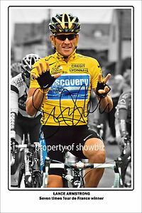 LANCE-ARMSTRONG-AUTOGRAPH-PHOTO-OF-THE-TOUR-DE-FRANCE-7-TIMES-WINNER