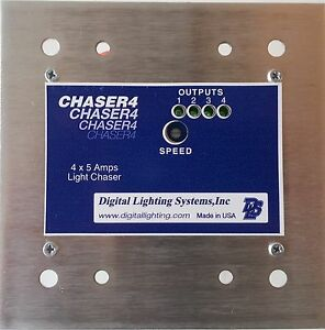 4 3 2 channel light chaser flasher sequencer for marquee sign usa 1 rh ebay com