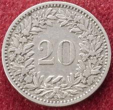 Switzerland 20 Rappen 1883 (C1212)