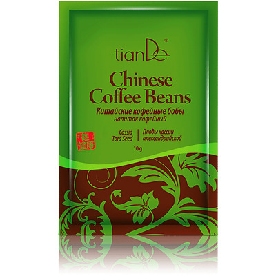 "Drink coffee ""Chinese coffee beans"" (the fruits of Cassia Alexandria), 10 g"