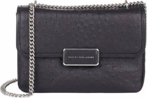 8a27a33f522a Marc Jacobs Rebel 24 Ostrich Stamped Leather Crossbody Handbag Bag for sale  online
