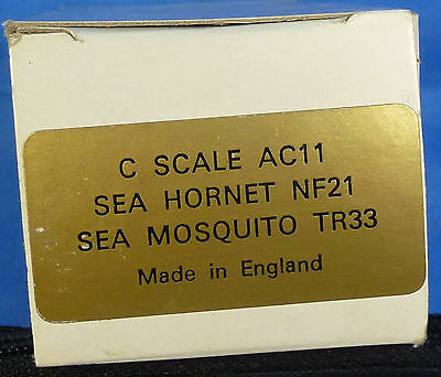 RARE C SCALE CONVERSION KITS FOR SEA HORNET NF-21 AND SEA MOSQUITO TR-33
