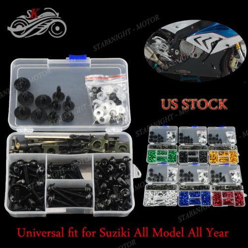 Generic Full Set Motorcycle Sportbike Fairing Bolt Kit For Suzuki GS500F 05-09