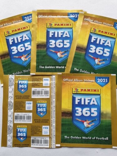 Panini FIFA 365 2020//2021 bustina-bag-tüten-sobre-pochette France version