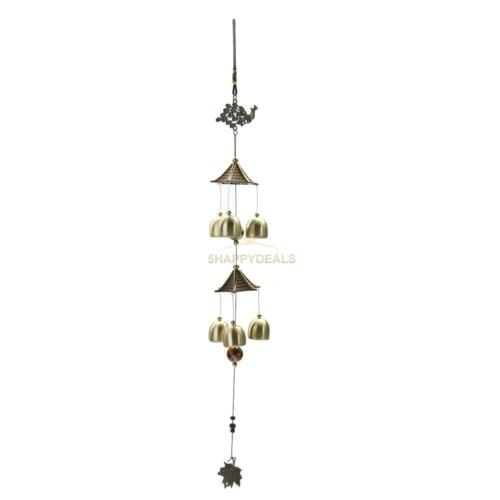 Creative Window Garden Yard Wind Chime Copper Wind Bells Tubes Home Decor Gifts
