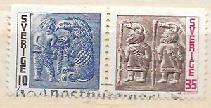 sweden stamp pair USED - <span itemprop=availableAtOrFrom>London, United Kingdom</span> - sweden stamp pair USED - London, United Kingdom