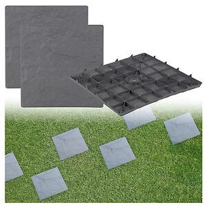 Pavimentazione in lastre patio in plastica imitazione piastrelle da giardino effetto pietra - Piastrelle giardino plastica ...