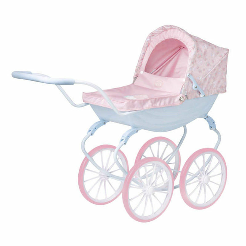 HTI Retro Vintage Creation Baby Annabell Stylish doll stroller stroller stroller Carriage Pram c30bdc