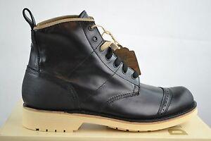 Diesel-D-vickry-Sneaker-Uomo-Scarpe-Stivali-Motociclista-Pelle-TGL-40-44-NUOVO