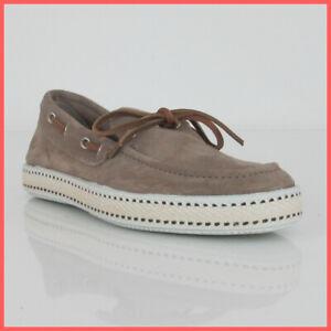 original mejor calificado siempre popular Mitad de precio Detalles de Frau Zapatos Mocasines Hombre 38c6 69 Terciopelo Beis Corcho  Verano 2019