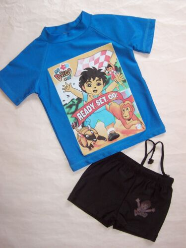 BRAND NEW DIEGO BOYS SWIMMING COSTUMES SET SWIMMERS SIZE 1