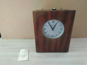 Electro-secondary-industrial-signal-wall-clock-STRELA-1979-USSR