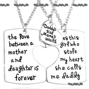 XMAS-GIFTS-FOR-HER-amp-HIM-Matching-Set-Mum-Dad-amp-Daughter-Mother-Daddy-Girls-E9
