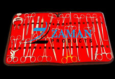 36 Pcs Professional Plastic Surgery Kit Surgical Instruments By Zaman Products