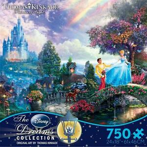 THOMAS-KINKADE-DISNEY-DREAMS-COLLECTION-PUZZLE-CINDERELLA-WISHES-UPON-A-DREAM