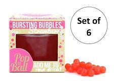 Popaball estallar las burbujas juego de 6 fresa Saborizante Boba Bola Burbuja Té Bebida