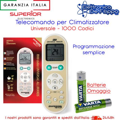 Telecomando universale per condizionatori d/'aria semplice da programmare