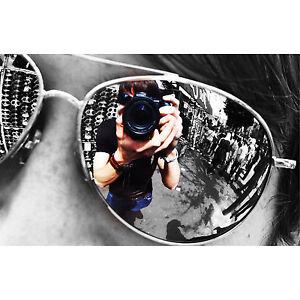 Retro Silver Mirror Aviator Fashion Sunglasses Uv400 Unisex Mens Ladies Shades