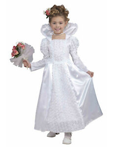 ... Mariee-Princesse-Enfant-Fille-Blanc-Robe-Mariage-Deguisement- 984f7ec6499