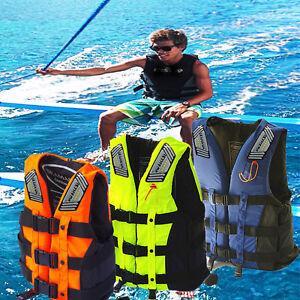 Safety-Life-Jacket-Child-Adult-Sports-Swimming-Floating-Aid-Vest-Buoyancy-Vest