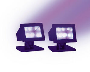 Lemax, 34974 - Halloween Purple Light, Set/2,  Halloween