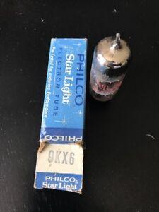 Philco-9KX6-Audio-Electronic-Vintage-Radio-TV-Valve-HAM-Vacuum-NOS-Tubes