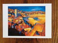 St. Ives Postcard By Colin Evans.