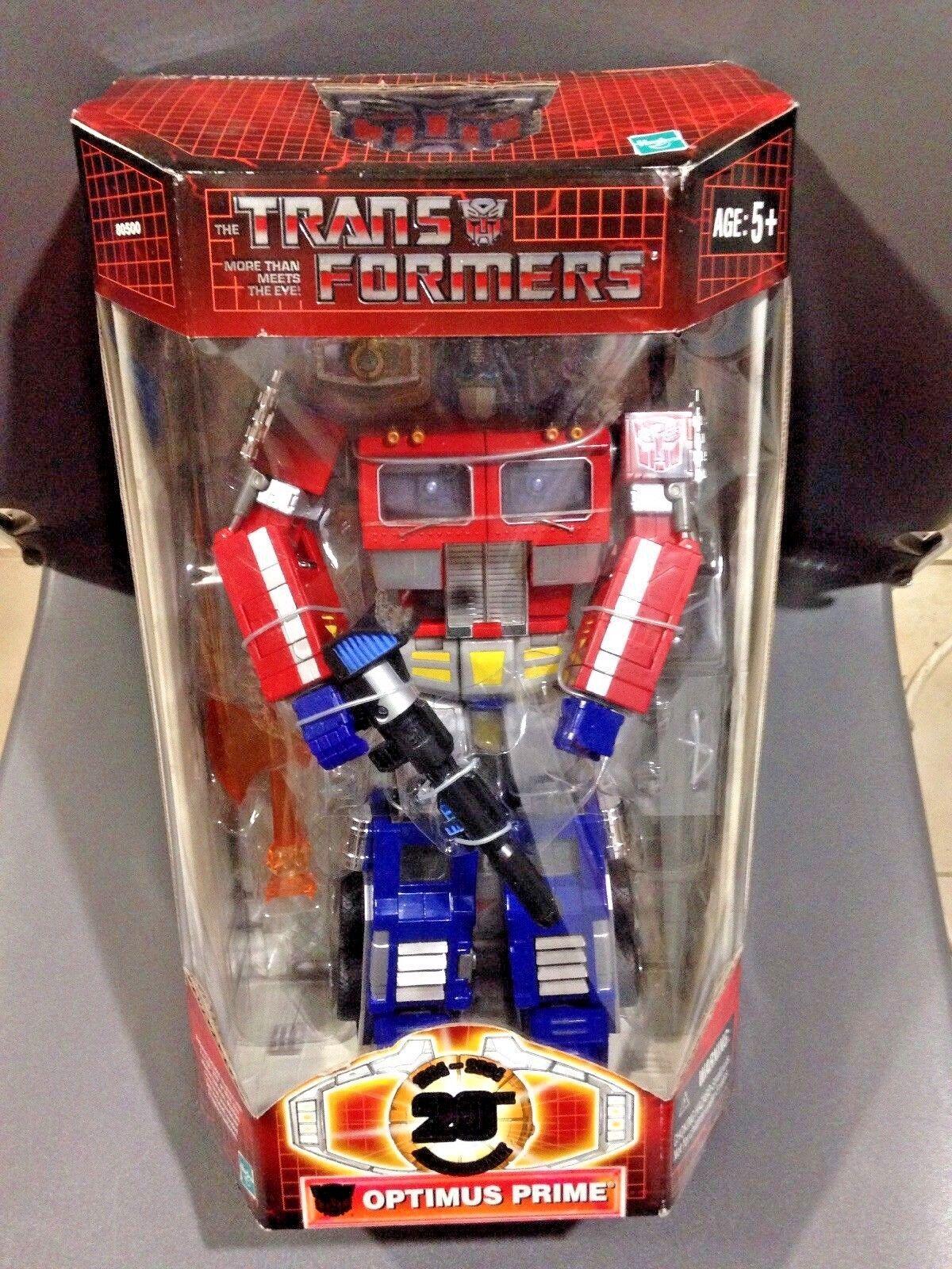 Hasbro Transformers Classics  20th Anniversary Optimus Prime...NIB