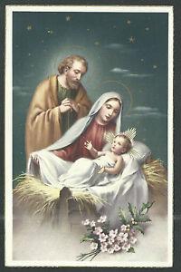 image pieuse postale ancianne de la Sagrada Familia santino holy card estampa Ame4i4gl-09122813-589635087