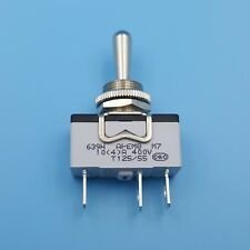 Apem 639h2 3pin On Off On Metal Lever 3 Gears 12mm Spdt Toggle Switch 10a400v