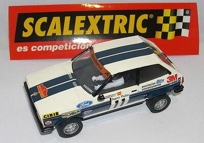 Confident Scalextric Spain Altaya Rally Spanien Ford Fiesta 1600 Zimt-villalba 1980 Elegant In Smell Elektrisches Spielzeug