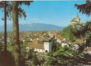 Rankweil, Vorarlberg, Bergkirche mit Stadtansicht gl1974 G4978