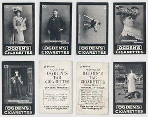 Ogdens Tabs - General Interest D Series [Odds 151-200]