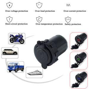 Dual-USB-Port-Car-Charger-Power-Adaptor-Splitter-Cigarette-Lighter-Socket-12-24V