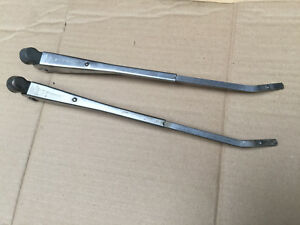 Fiat 126 Pair of Front Wiper Arm Arms LHD