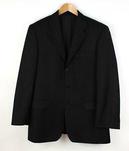 HUGO BOSS Herren da Vinci/Lucca 100% Wolle Formelle Blazerjacke Größe 50 ACZ984