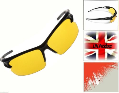 Night Vision  yellow lens laptop gaming reading Anti-glare Driving Glasses