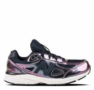 NEW BALANCE 990 990v4 KJ990TTG LIQUID PURPLE IRIDESCENTNAVY
