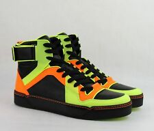 2267a08c7aa9 Gucci Mens Neon Leather High-top SNEAKERS - 12 US 11g ( ) for sale ...