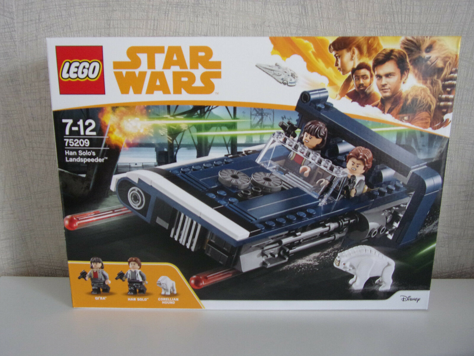LEGO STAR WARS 75209 Han Solo's Landspeeder - NUOVO E IN CONFEZIONE ORIGINALE