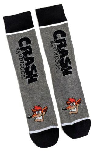 Homme Crash Bandicoot sur pied design Chaussettes 6-11 UK//39-45 EUR//7-12 us