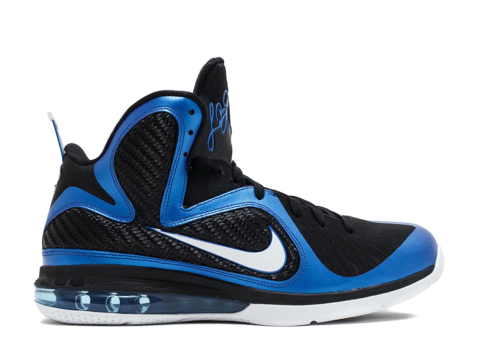 Nike LeBron 9 IX Black Blue Kentucky Wildcats PE Size 13. 469764-400