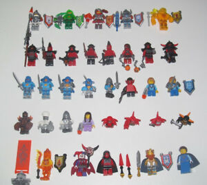 Lego-Minifigure-Chevalier-Nexo-Knights-Nouvelle-Serie-Choose-Minifig-NEW