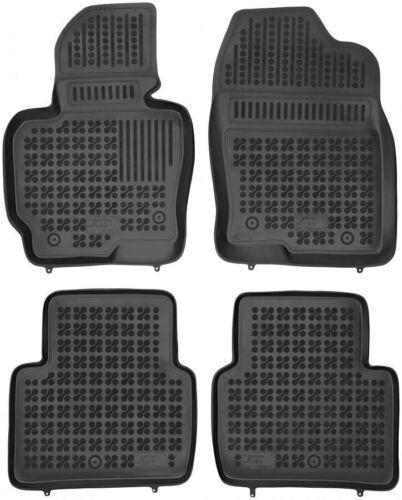 2012-2017 4-teilige schwarze Gummifußmatte für MAZDA CX5 Bj