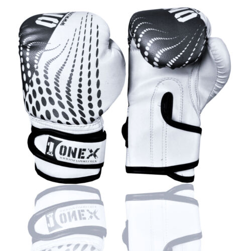 1x 4oz kids boxing gloves,Bag sparring mma training kick boxing muayThai Gloves