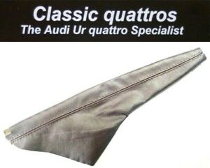 NEW-BROWN-LEATHER-HAND-BRAKE-GAITER-AUDI-UR-QUATTRO-TURBO-COUPE-COUPE-80-90-B2
