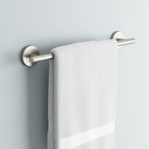Gatco Latitude II 18 in Towel Bar in Satin Nickel