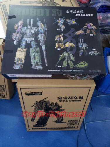 Perfect Jinbao Bruticus Decepticons K.O Oversized Warbotron Toy 55CM Big Figure
